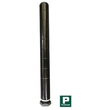 Coluna Preta de 100cm